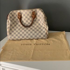 Vintage Louis Vuitton Speedy 30 Bag